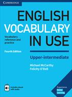 کتاب Cambridge English Vocabulary in Use سطح Upper-Intermediate - ویرایش چهارم (2017)
